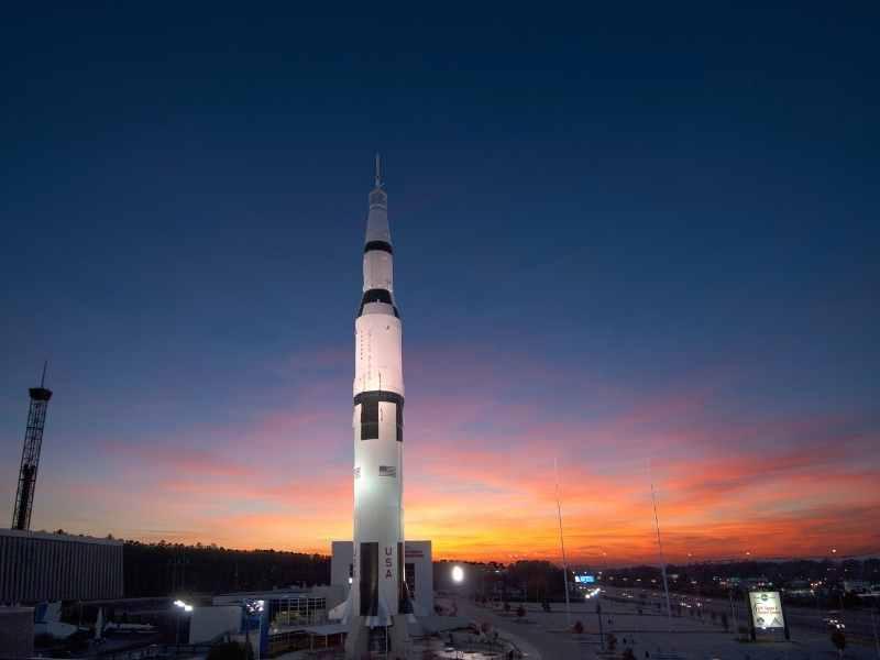 Huntsville is the rocket city